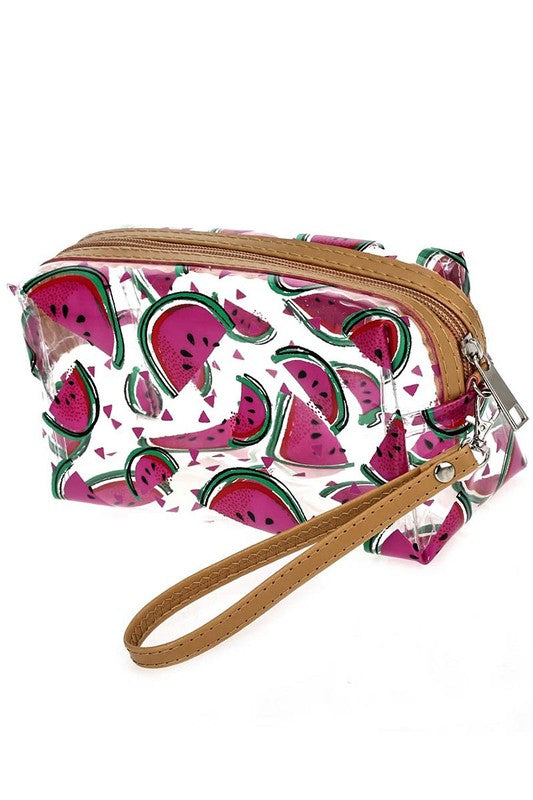 Watermelon Clear Print Bag