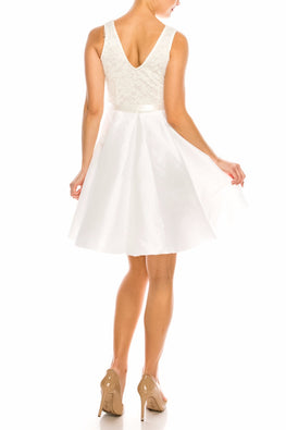 White Abigail Dress
