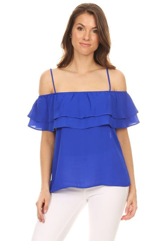 Royal Blue Marissa Top