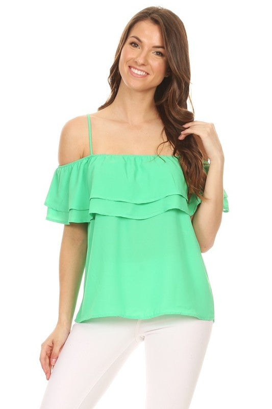 Green Marissa Top