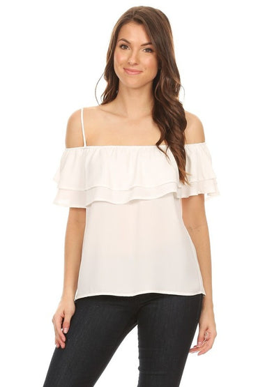 White Marissa Top