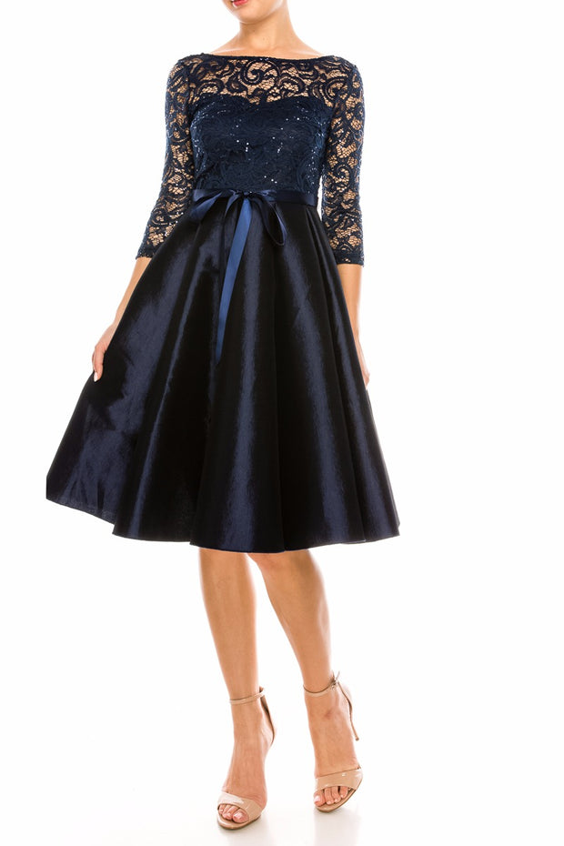 Navy Simone Dress