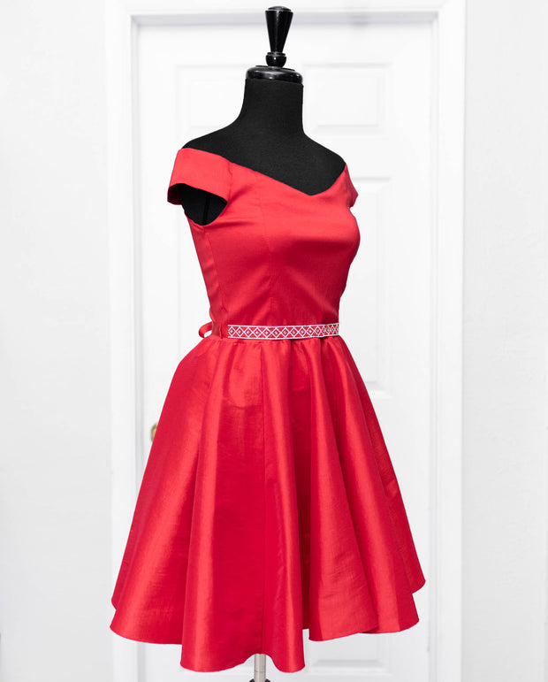 Red Nora Dress