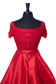 Sparkle Red Janet Dress