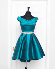 Teal Neila Dress