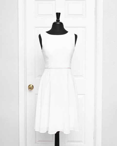 White Shania Dress