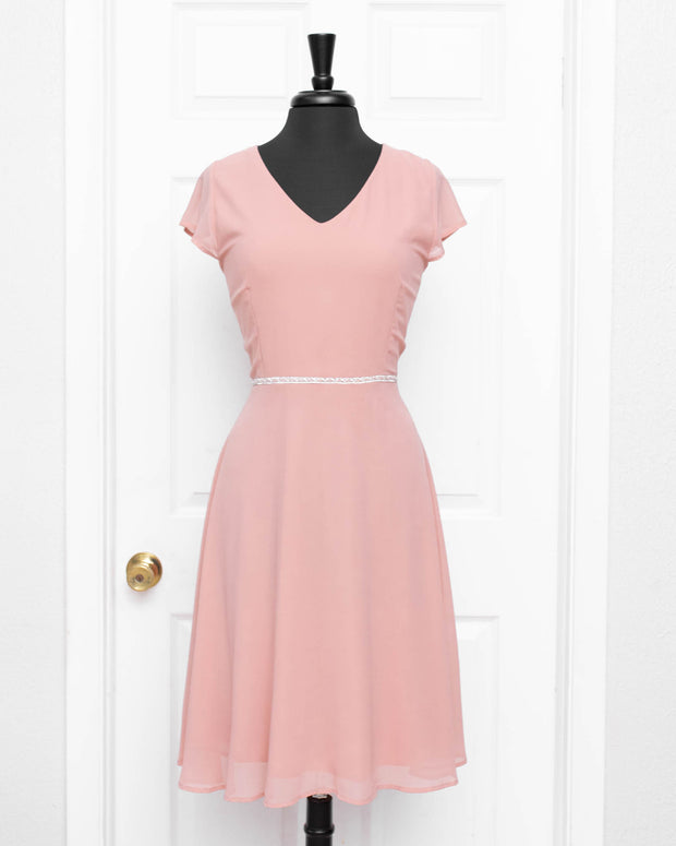 Mauve Zara Plus Dress