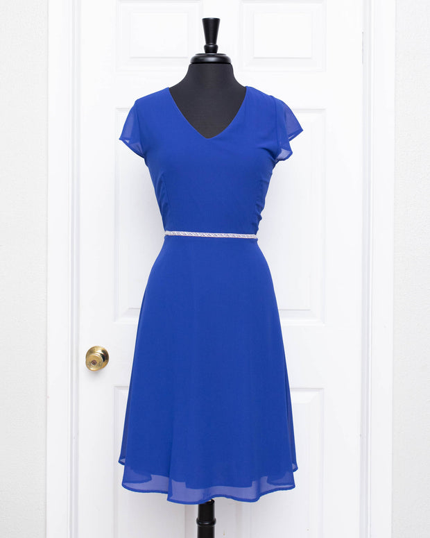 Royal Blue Zara Plus Dress