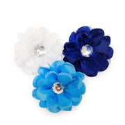 Flower Hairbow With Studs