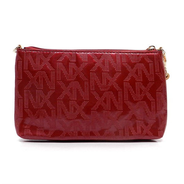 NX Red Patent Cross Body Bag