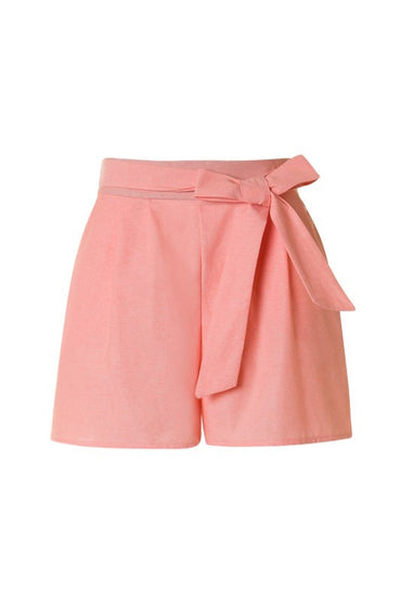 Coral Cotton Shorts