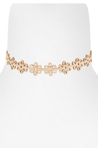 Nude Cut Out Choker