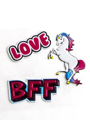 LOVE BFF Stickers Set