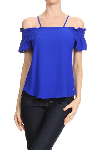 Royal Blue Riley Top