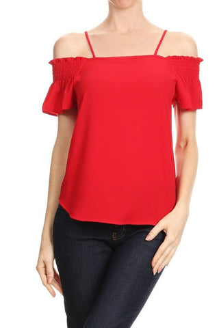 Red Riley Top