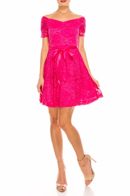 Fuchsia Tara Dress