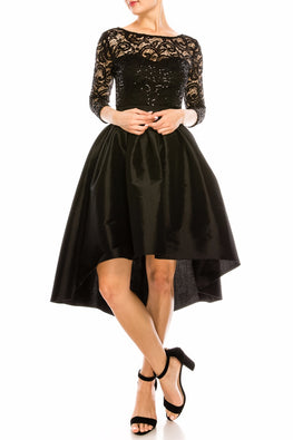 Black Sparkles Dress