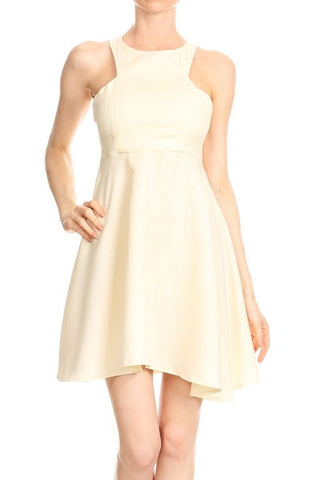 Cream Evie Dress
