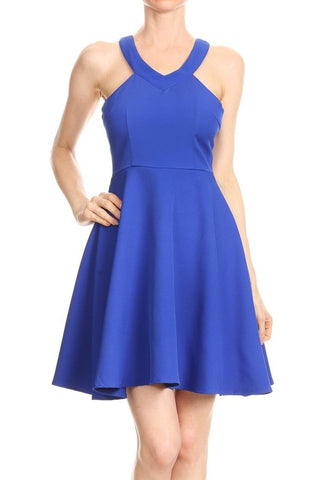 Royal Blue Manda Dress