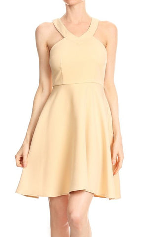 Taupe Manda Dress