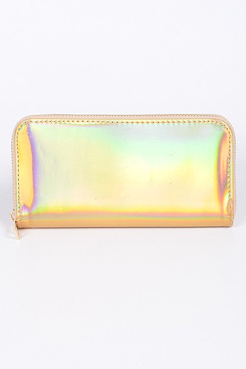 Gold Chroma Wallet