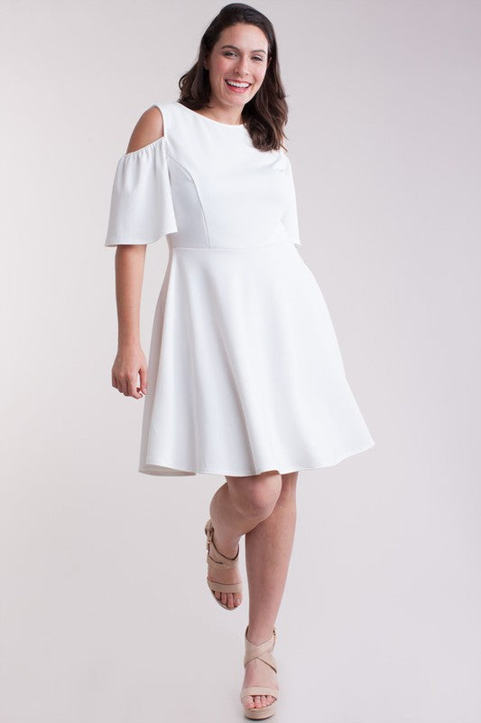 Ivory Tatum Plus Dress