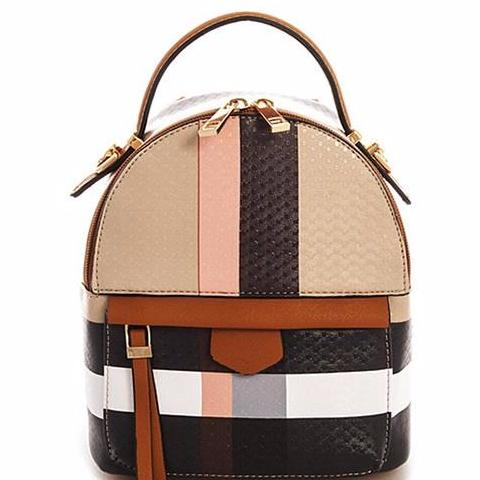 Burberry Inspired Convertible Backpack