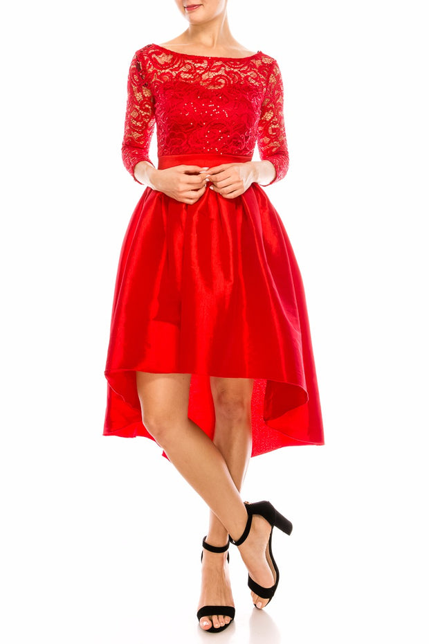 Red Sparkles Dress