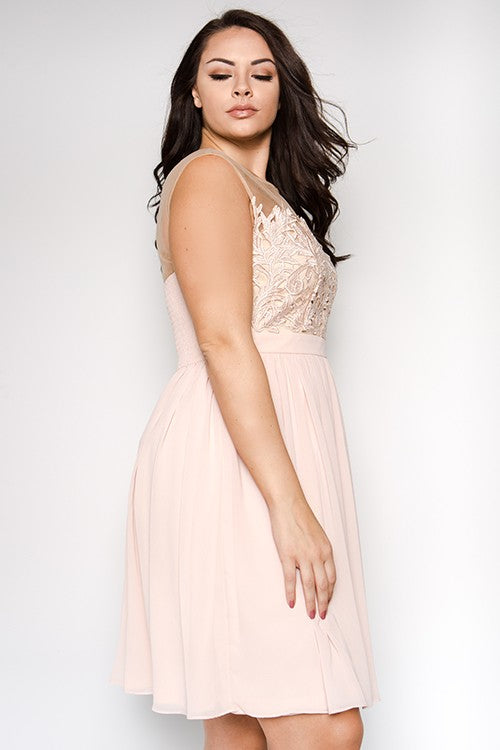 Blush Emersyn Plus Dress