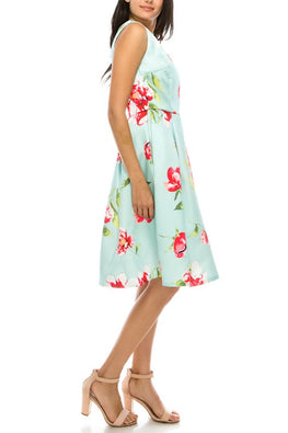 Mint Jana Dress