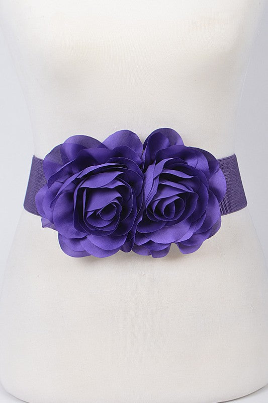 Flower Belt - Purple