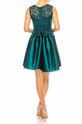 Teal Kayla Dress
