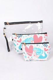 Under the Sea 3 Pc Clutch Set