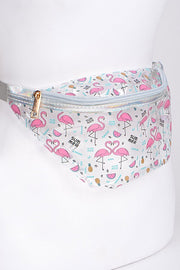 Summer Flamingo Fanny Pack