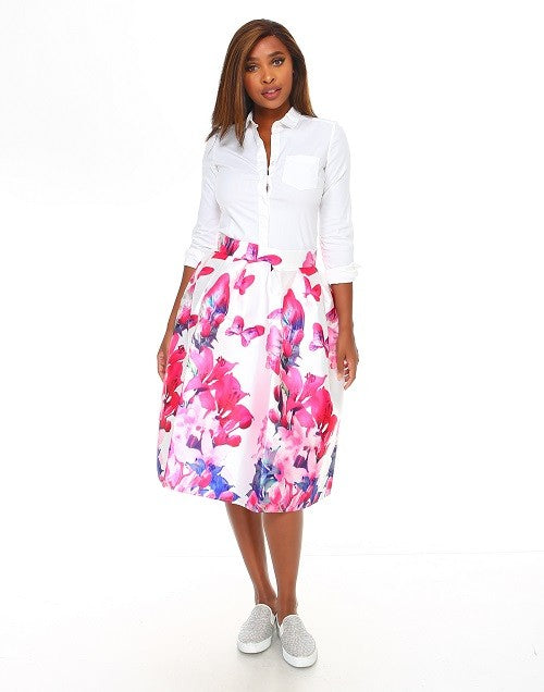 Butterfly Fields Skirt