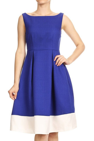 Royal Blue Cala Midi Dress