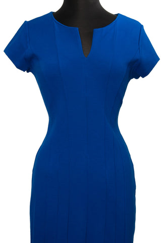 Blue Erica Plus Dress
