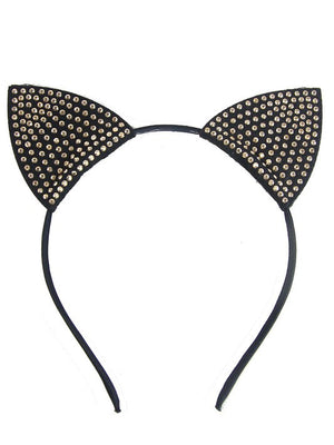 Studded Cat Ears Headband