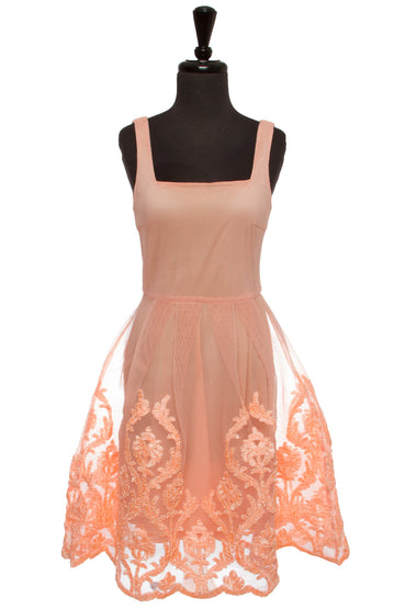 Peach Palace Dress