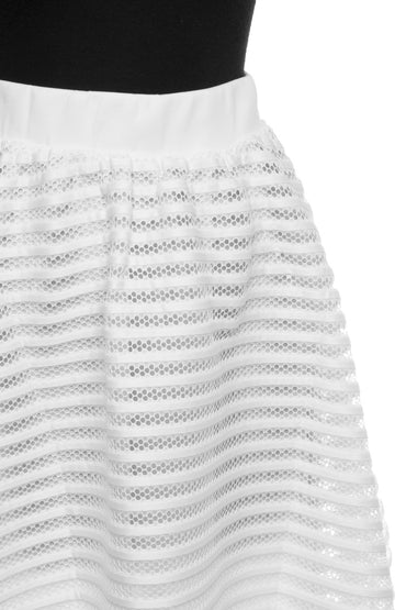 Off White Scuba Skirt