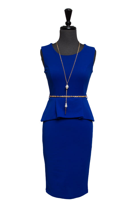 Royal Blue Taletha Dress