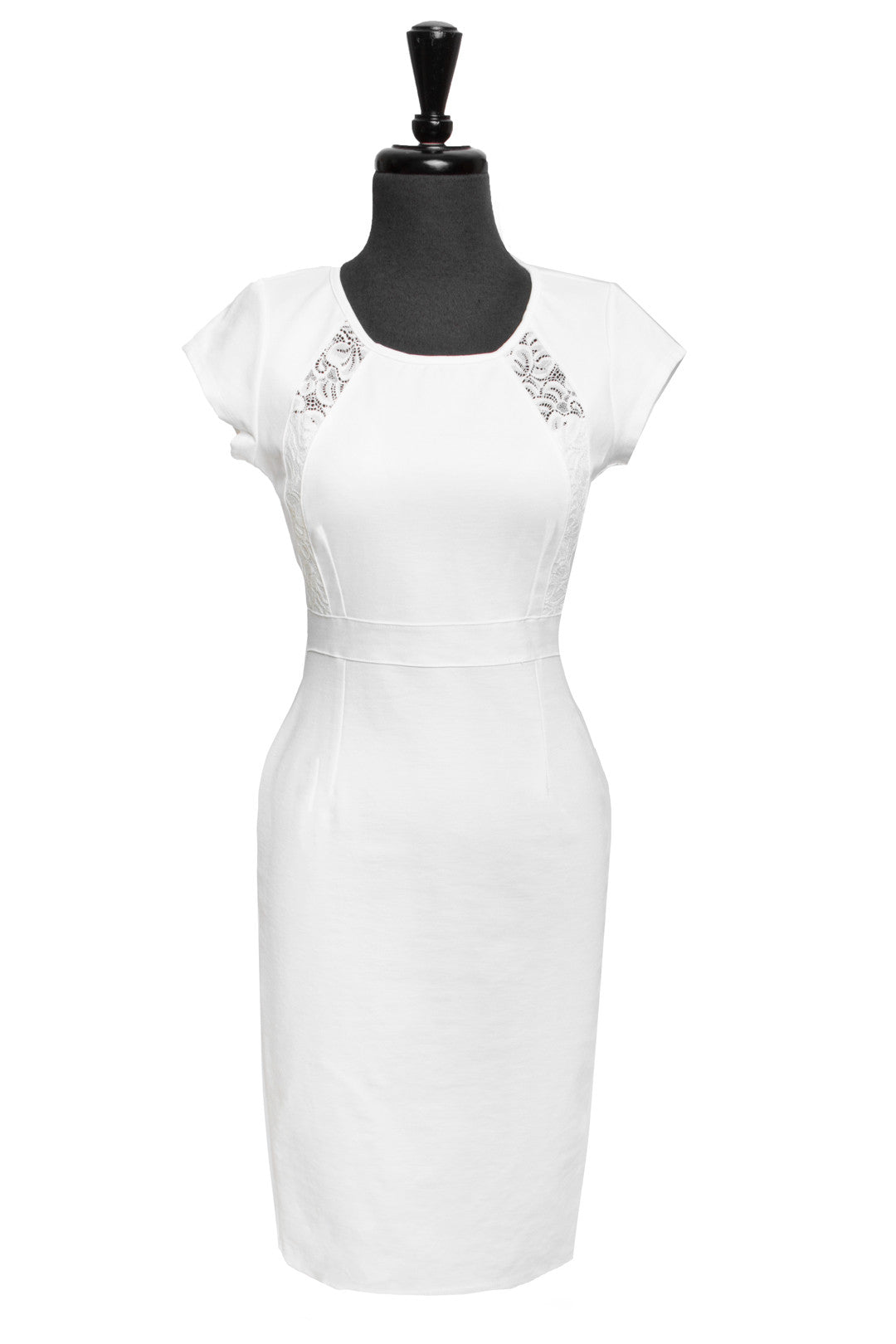 Off White Tula Panel Dress