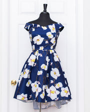 Navy Kelsey Dress