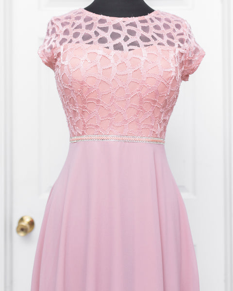 Dusty Rose Darla Dress