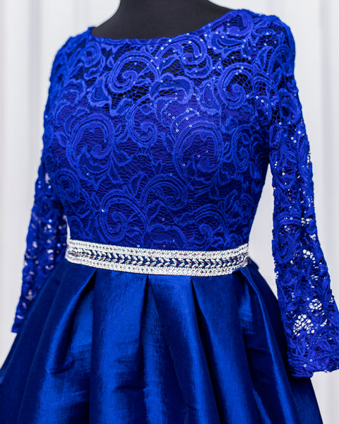 Royal Blue Eliana Dress