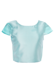 Aqua Relaxed Crop Top