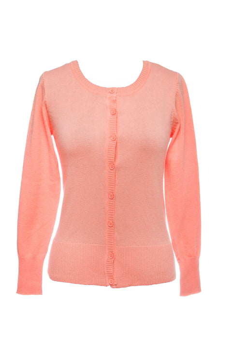 Light Coral Cardigan