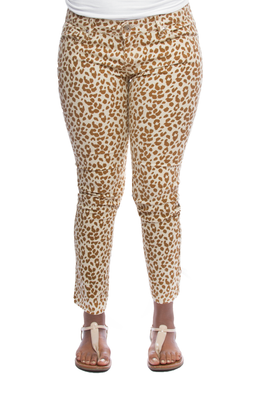 For the Love of Leopard Skinny Pants