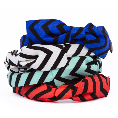 Chevron Headbands