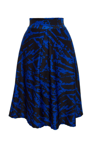 Tidal Plus Abstract Skirt